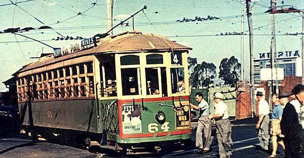 Perth Tram 64 Hay St East