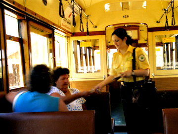 Western Australia's Heritage Tramway Conductor