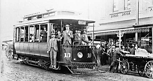 Perth Tram 10 Wellington St