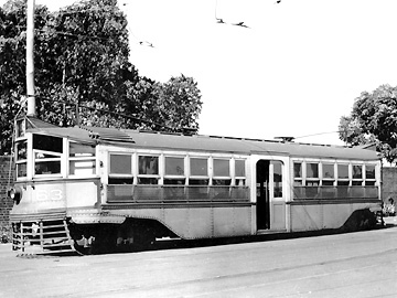 Perth Tram 63 Hedley-Doyle Car Barn
