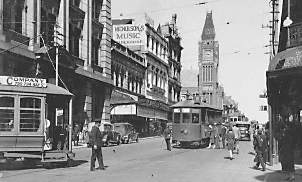 Perth Trams Barrack St